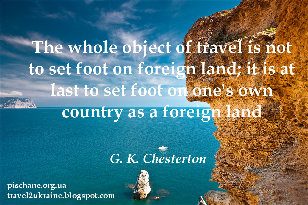 Inspirational Quotes About Travel Travel To Ukraine