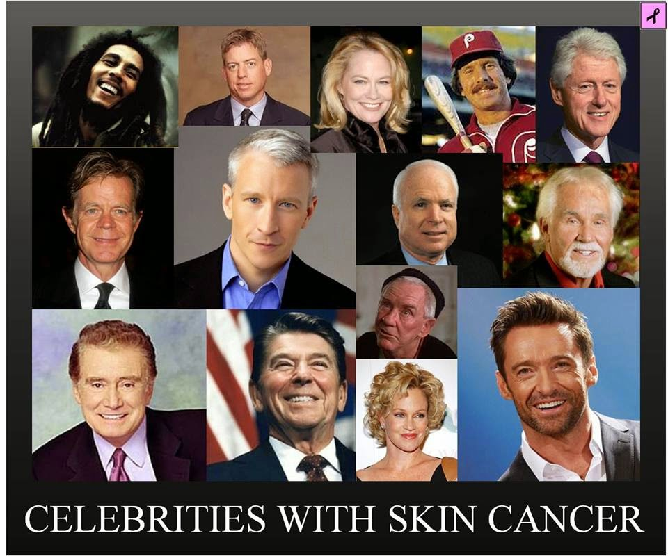 Celebrities With Skin Cancer - Health