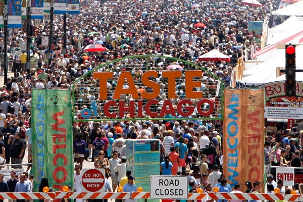 Taste of Chicago website