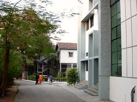 new buildings of St. Mary's school in Pune