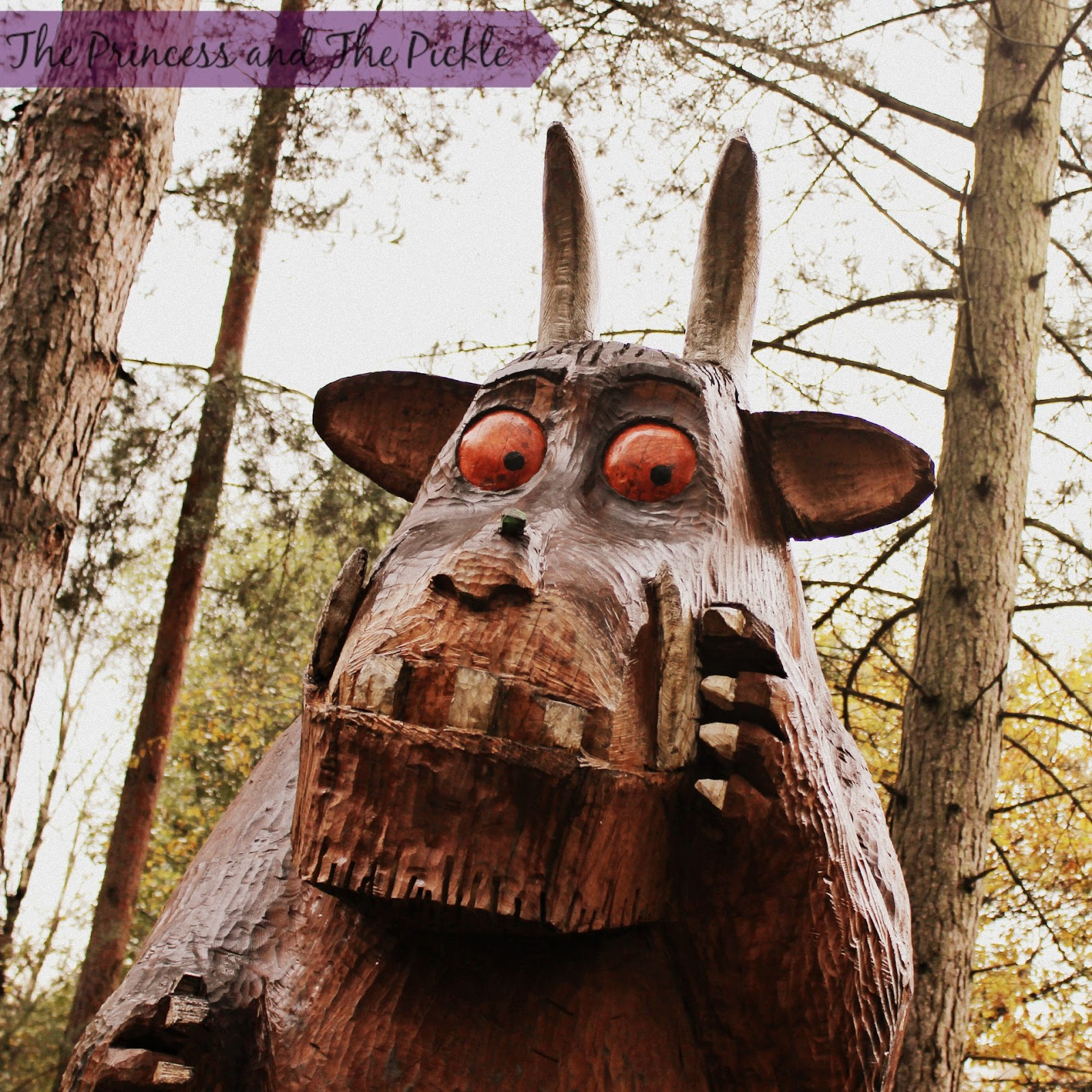 Moors Valley, muddy puddles and a Gruffalo!