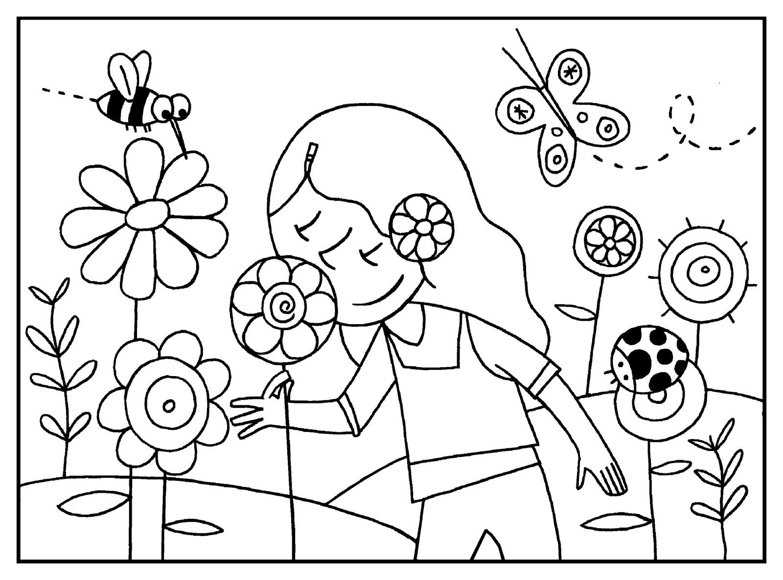 Actividad infantil: La Primavera
