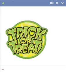 Trick Or Treat Facebook Emoticon