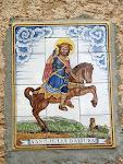 Majòlica de Sant Julià d'Altura a la façana sud