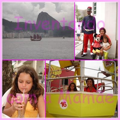 Roda Gigante no Forte Copacabana no Rio de Janeiro