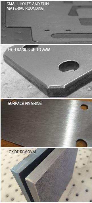 metal deburring machine
