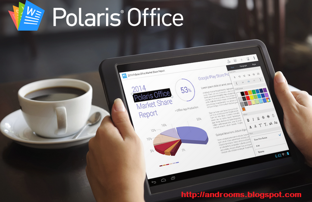 Polaris Office - Aplikasi Office Android Terbaik