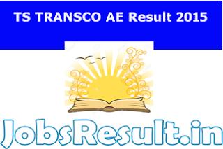TS TRANSCO AE Result 2015