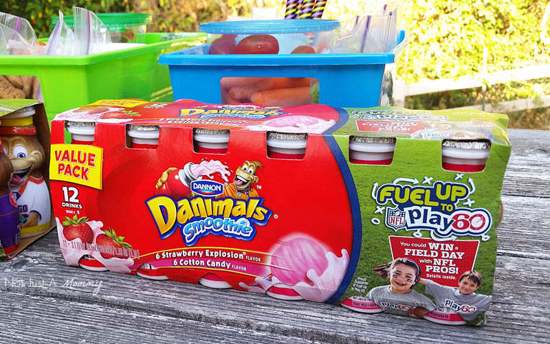 Grab And Go Snack Ideas With Dannon® Danimals® Fuel Up and Play