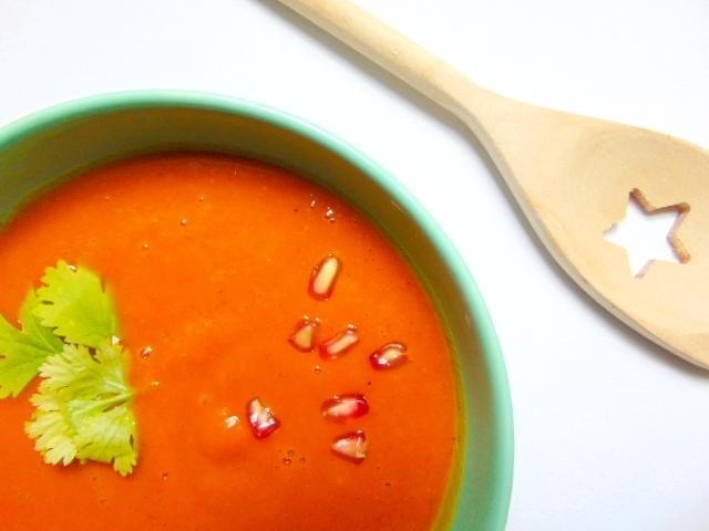 Velouté de courge au curry squash soup