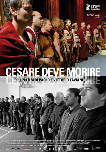 Filme Poster César Deve Morrer DVDRip XviD & RMVB Legendado