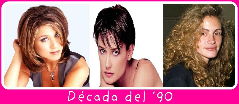 Peinados De Los 90 Para Mujeres - Los Años 90 Peinados Maquillaje Looks y Moda de los Noventa