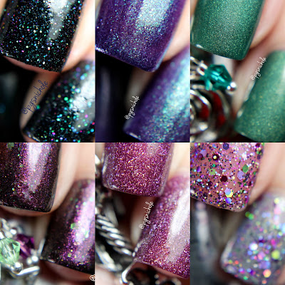 The Lady Varnishes Maleficent Holiday 2015
