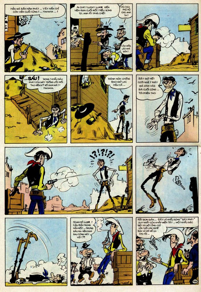 TruyenHay.Com - Ảnh 36 - Lucky Luke Tập 25 - Nhện Chân Dài