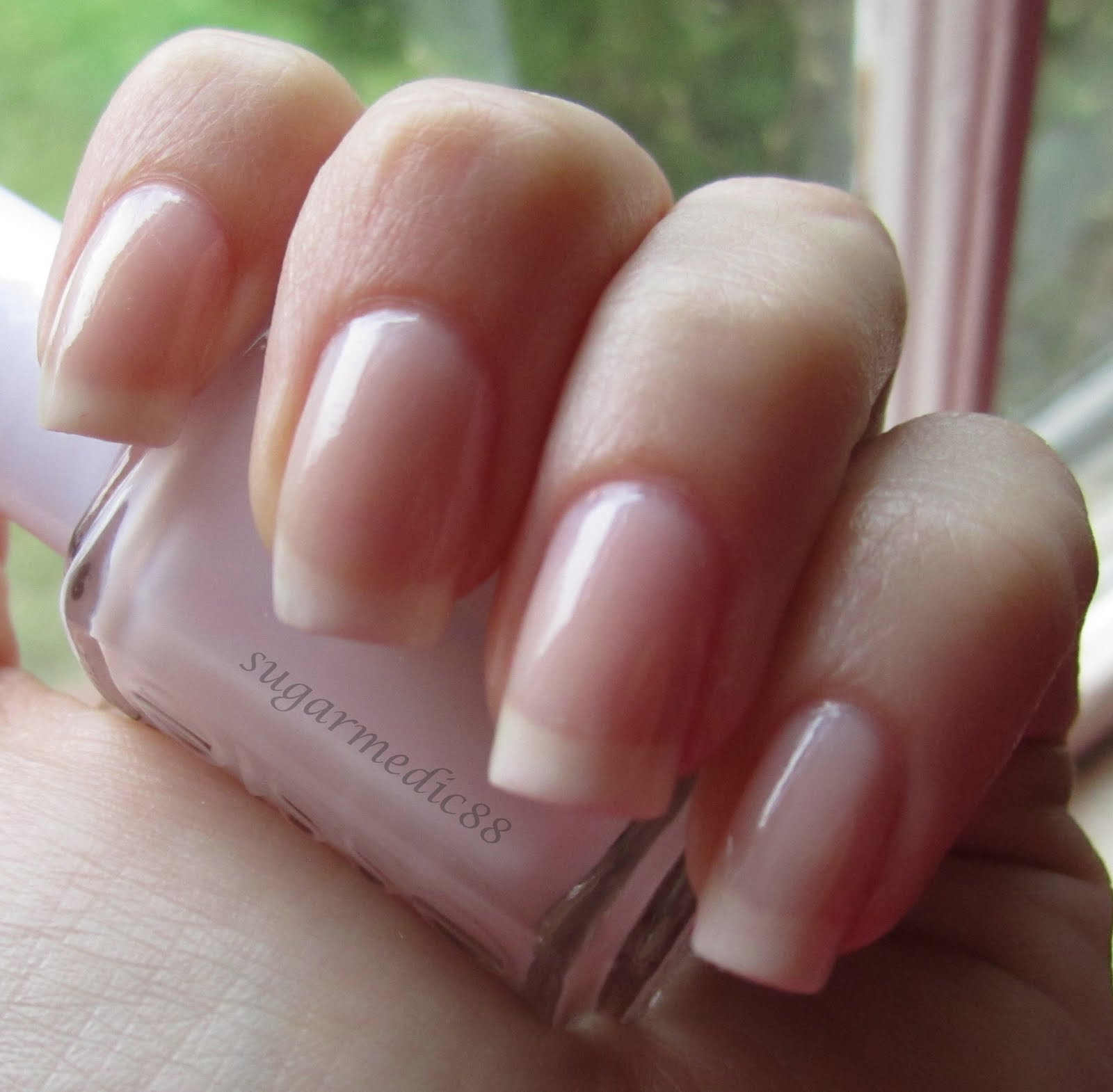 The Polished Medic: Simple&Sheer Essie Mademoiselle (edit) and A ...