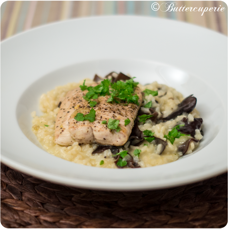 Risotto mit Black Fungus