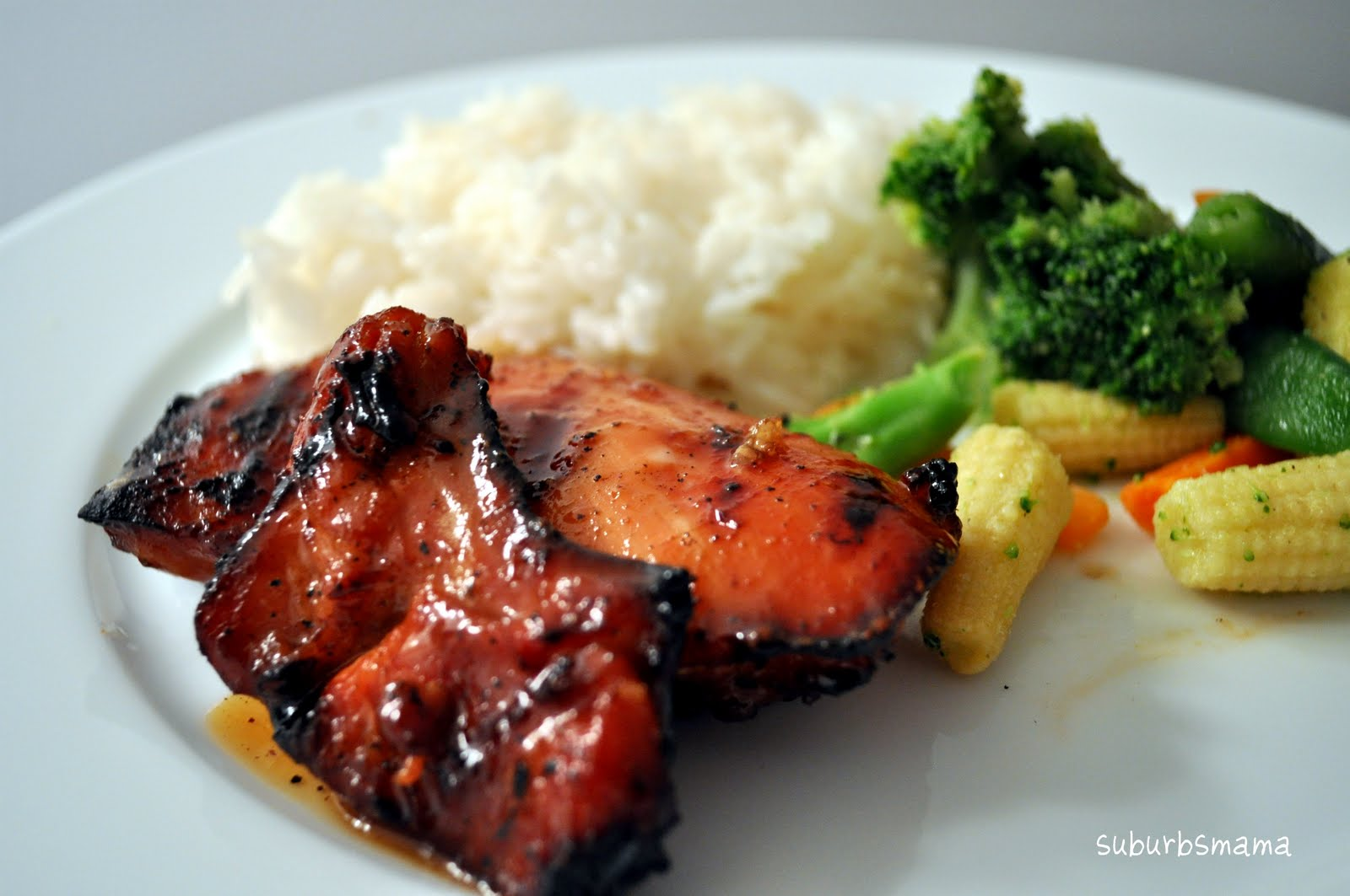 Suburbs Mama: Grilled Teriyaki Chicken