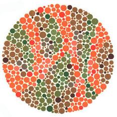 Prueba de daltonismo - Carta de Ishihara 20