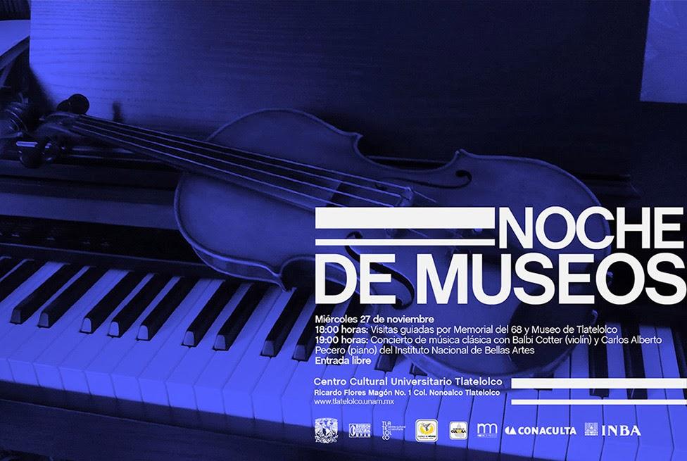CCU Tlatelolco en la última Noche de Museos del año