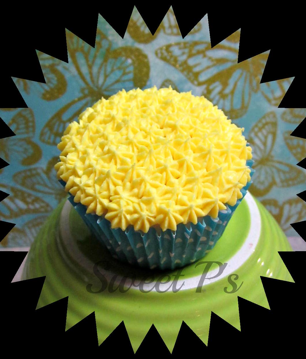 star tip cupcake