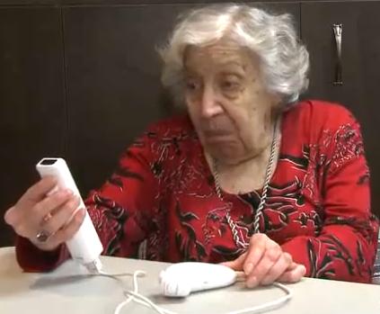 Les vieux et la technologie