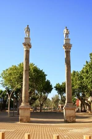Columnas Romana Alameda - Sevilla