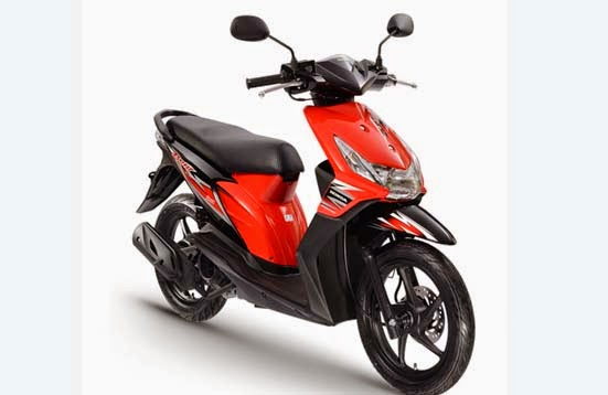 Honda BeAT Fighting Red