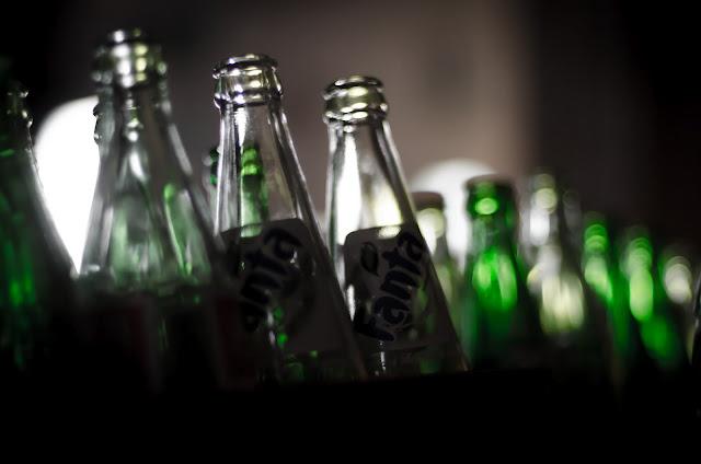 Glass Bottles Pohang Photography I-Dong South Korea