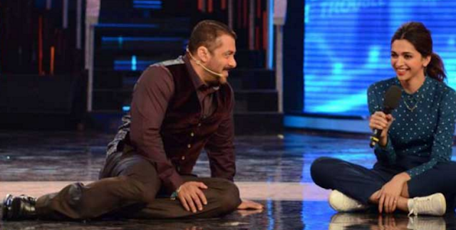 """Even a proposal from the likes of Deepika Padukone is not enough to get Salman Khan married.  Though in jest, Deepika dropped to her knees and proposed to Salman on the sets of Big Boss 9.  A stung Salman started shouting in a shrill voice, saying """"never"""" even if it was Deepika proposing him."""
