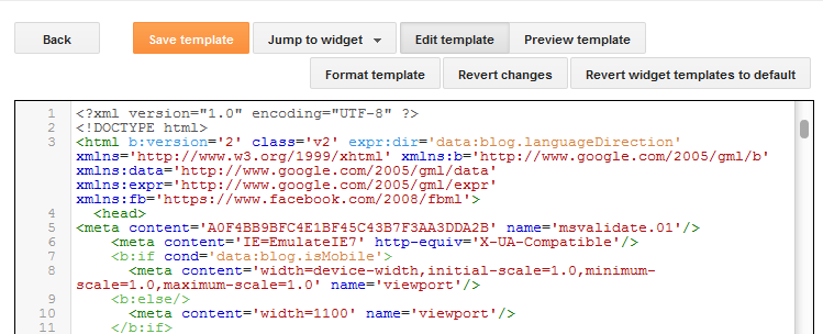 How to use the new blogger html editor helplogger for Template for blogger html code