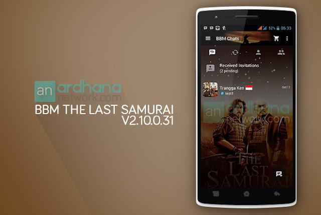 BBM The Last Samurai