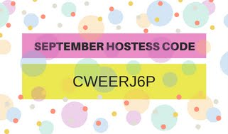 SEPTEMBER HOSTESS CODE
