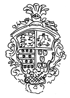 Escudo de la capilla de la casa Miranda, en Agones