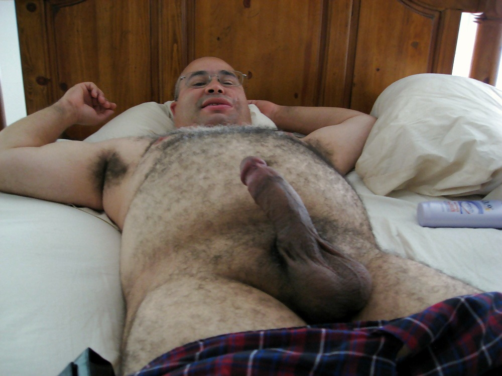 Naked Fat Man Penis Furry Mature Big Cock Gay Daddy