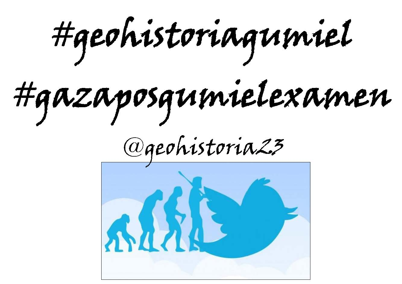 #geohistoriagumiel