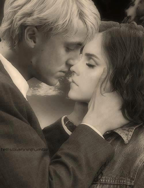 Won t Give Up - Dramione FanfictionDraco Malfoy And Harry Potter Kiss