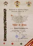 Ferrer Dalmau , Húsar de Pavía