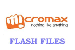 MICROMAX MOBILES FLASH FILES