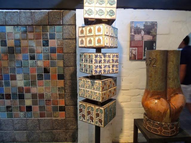 Cerâmicas de revestimento de Brennand
