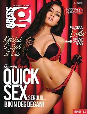 E-book Majalah Gress Magazine Edisi 11 - Aurora Lessa