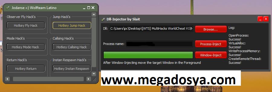 3 Wolfteam Multihack v1.0   Wallhack   Mod Hilesi   isim degişme   Jump indir   Download