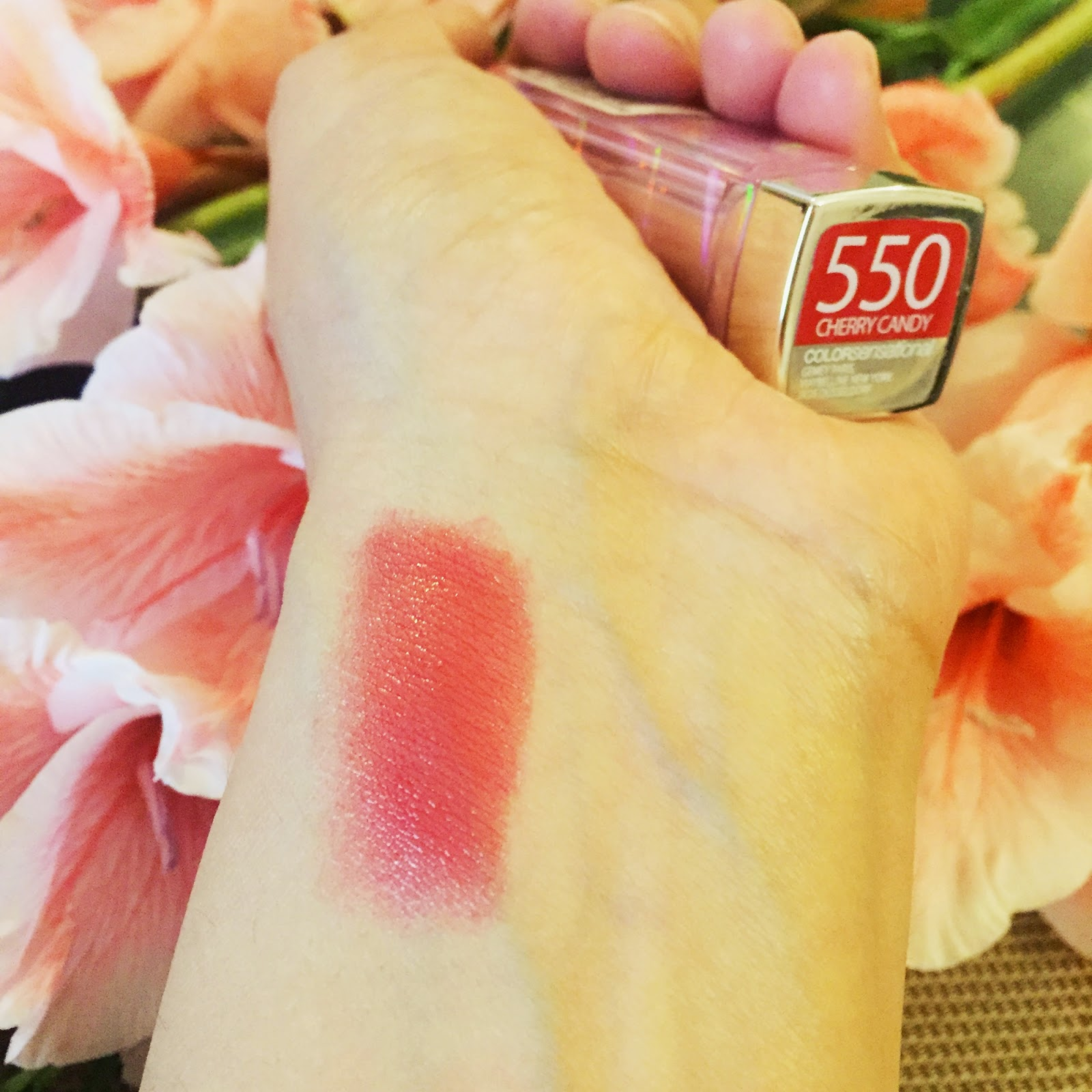 Maybelline ColorSensational Lipstick in Cherry Candy