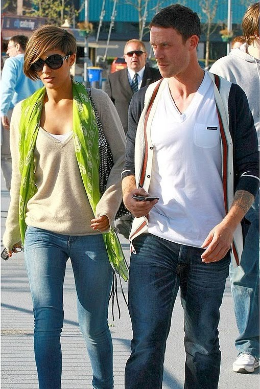 hairstyles Night Out: Wayne Bridge Tagged with Frankie Sandford,