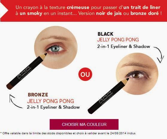 Choix de la teinte de l'eyeliner ombre à paupière Birchbox septembre 2014