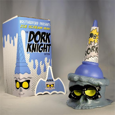 New York Comic-Con 2012 Exclusive Dork Night Edition Ice Scream Man by Brutherford