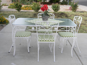Vintage Patio Set  *SOLD*