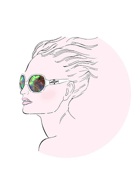 fashion, illustration, art, fashion illustration, sunglasses, stylised, creative, hair, beauty, imagery