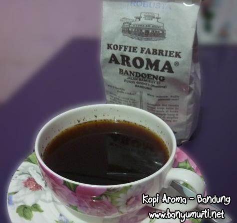 Kuliner Bandung - Kopi Aroma, Sejak 1930