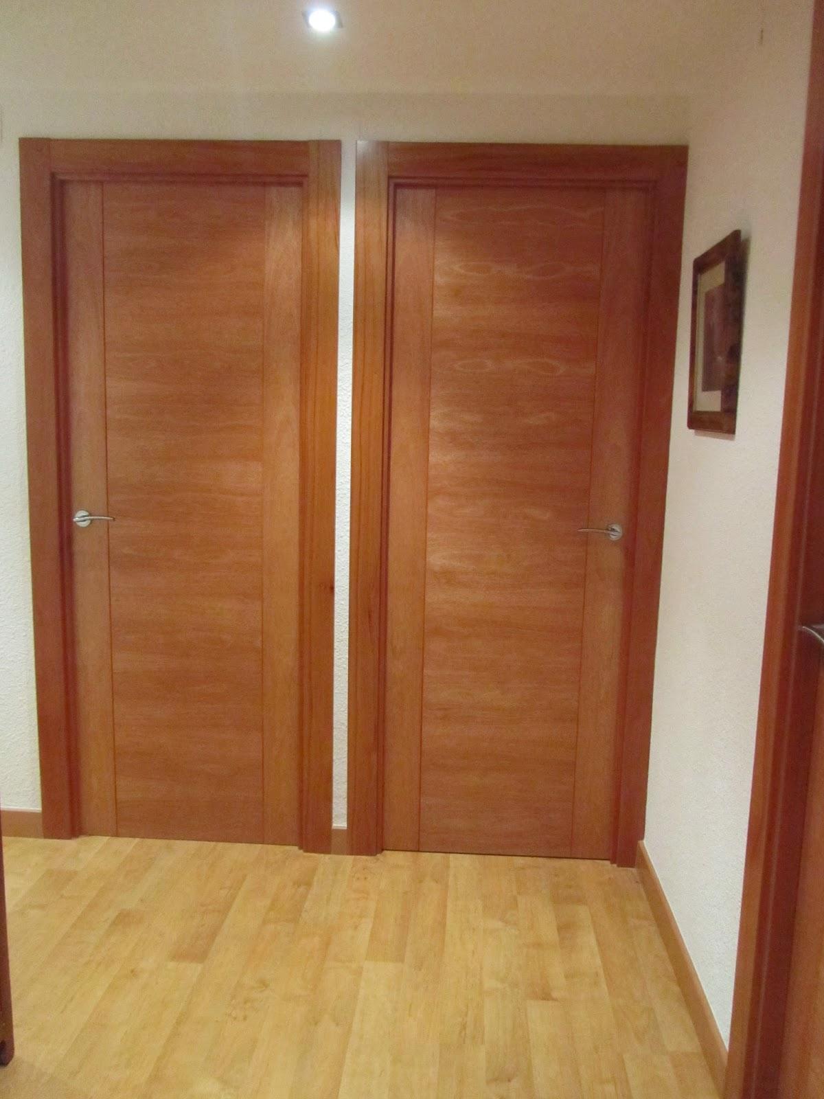 Puertas lozano reforma cambio de puertas de interior blindada y suelo laminado - Puertas piso interior ...
