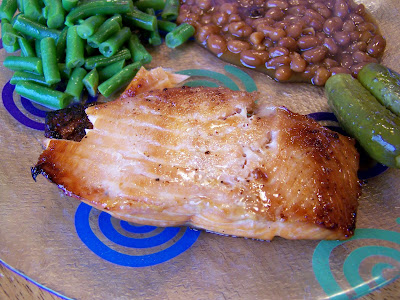 Diary of a Recipe Addict: {Easy & Delicious} Grilled Salmon